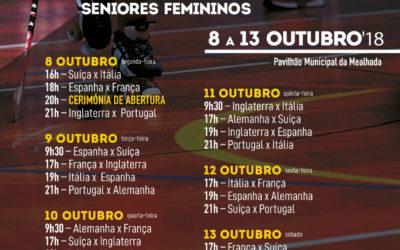 Campeonato Europeu de HP sénior feminino realiza-se na Mealhada na próxima semana