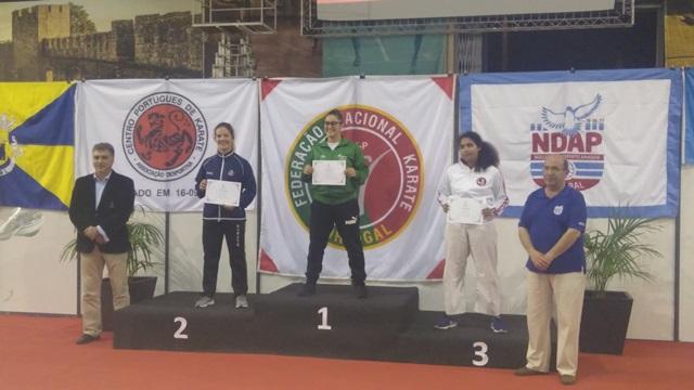 Gabriela Dias do HCM vence a II Liga Olímpica de Karaté
