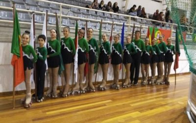 Atletas do HCM participam na abertura do Europeu de Hóquei Feminino
