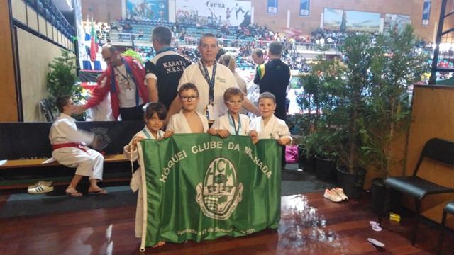 Karaté do HCM participou no Open de Karate Póvoa de Varzim