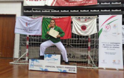 Gabriela Dias do HCM alcança 3º Lugar na  Iª Liga Olímpica de Karaté