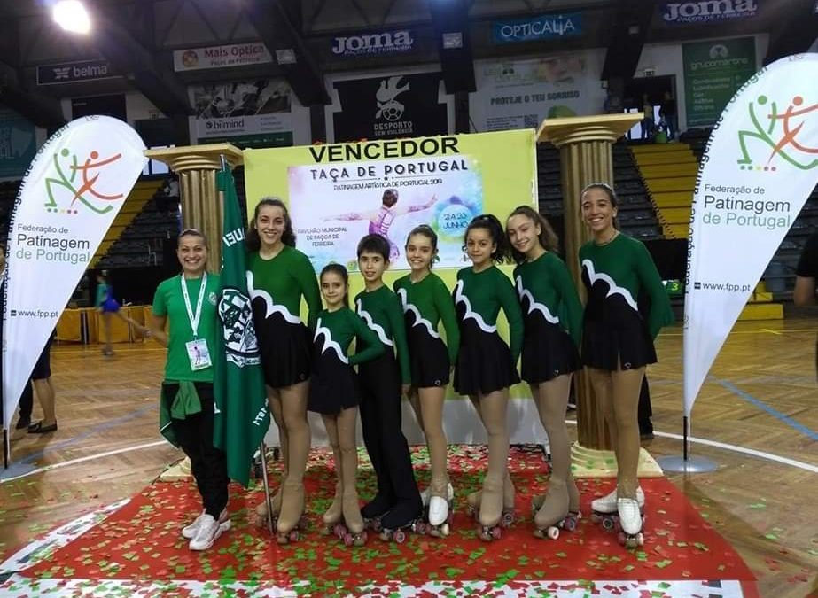 Patinagem Artísitica do HCM participou na Taça de Portugal
