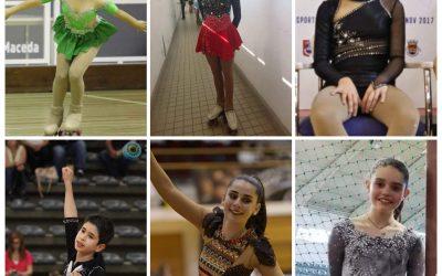 HCM representado por 6 atletas no Campeonato Nacional de Patinagem Artística