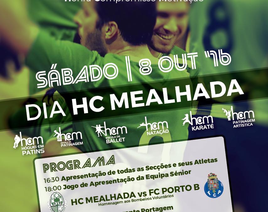 Dia HC Mealhada – 8 de Outubro