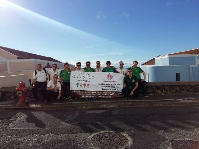 Séniores do HC Mealhada deslocaram-se à Ilha terceira!
