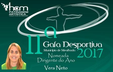 Vera Neto nomeada para dirigente do ano!