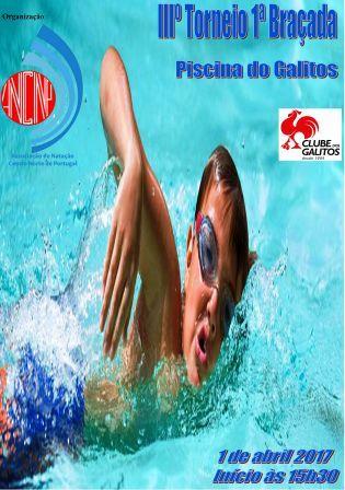 HCM/CCA vai estar presente no III Torneio 1ª Braçada, nas piscinas do Galitos