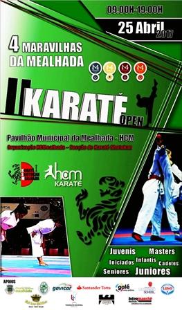 HCM organiza II edição do Karaté Open 4 Maravilhas da Mealhada, no dia 25 de Abril