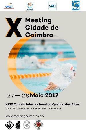 Natação do HCM/CCA vai estar presente no X Meeting Cidade de Coimbra/XXIX Torneio Queima das Fitas
