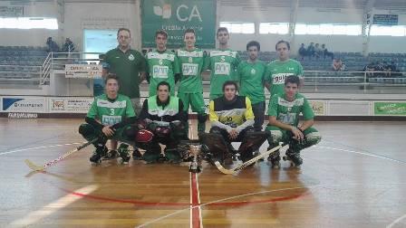 Sub20 do HCM receberam troféu de vencedores da Taça de Aveiro/Coimbra