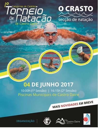 Natação do HCM/CCA participa no próximo domingo no Iº Torneio de Castro Daire.