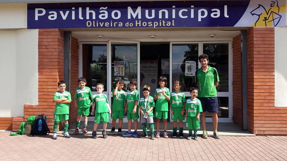 Bambis do HCM estiveram presentes no Torneio de Oliveira do Hospital de HP
