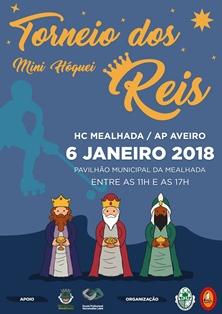 HC Mealhada e AP Aveiro organizam Torneio de Mini-Hóquei dos Reis no dia 6 janeiro