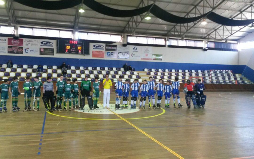 Sub13 – FC Oliveira do Hospital – 3×4 – HCM
