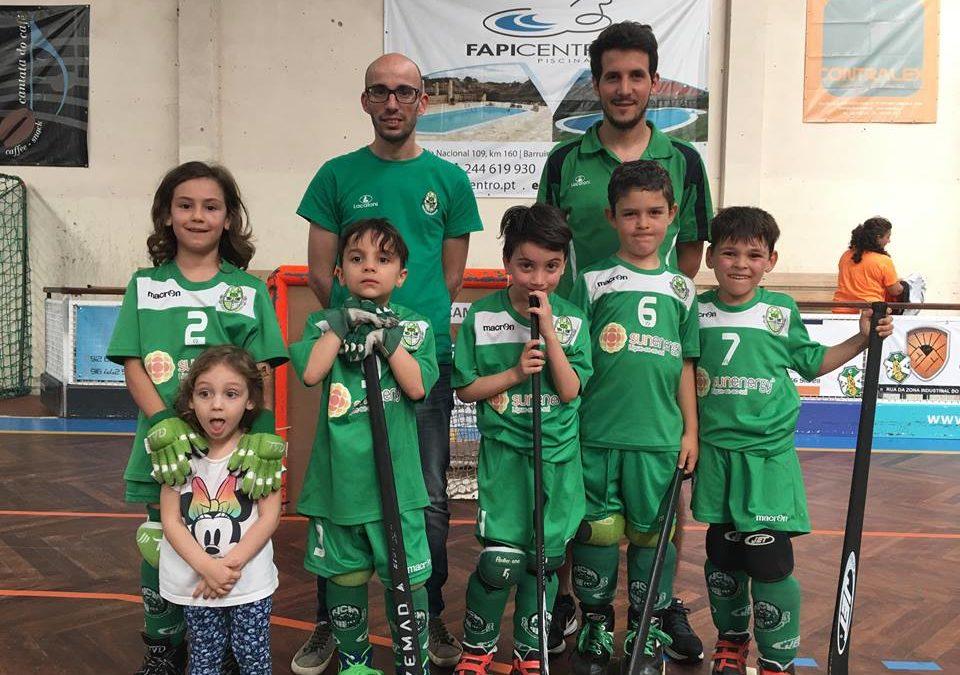 Bambis do HCM estiveram presentes no 5º Torneio Regional de Mini-Hóquei em Santa Maria da Feira