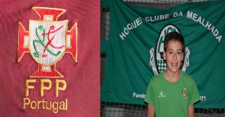 Tiago Estarreja do HCM convocado para a Escola de Guarda-Redes da FPP