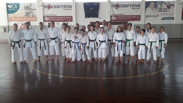 Karaté do HCM participou no Treino de Avançados em Vilarinho do Bairro