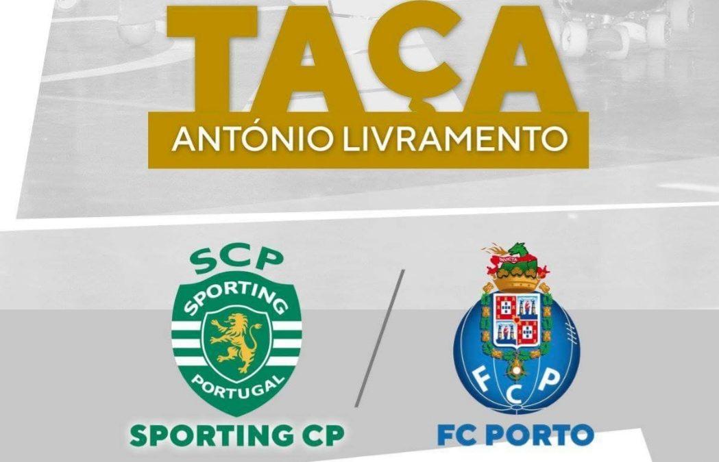 """Sporting CP e FC Porto disputam Supertaça """"António Livramento"""" na Mealhada"""