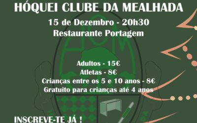 Jantar de Natal do HCM será a 15 de Dezembro