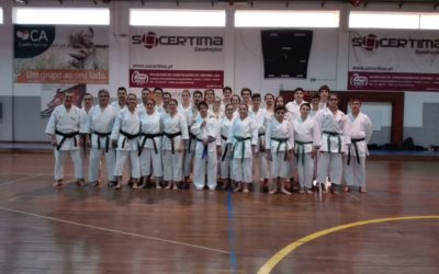 Karaté do HCM participou na 2ª edição treino avançados ISP